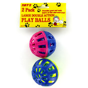 2 pack Cat Play Balls
