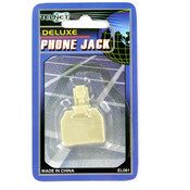 Telnet Deluxe Phone Jack: RJ11 Connectors Wholesale Bulk