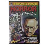 4 Pack Horror Dvds