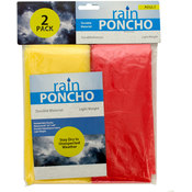 2-Piece Emergency Rain Ponchos