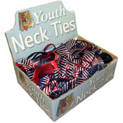 Children Print/Solid Ties