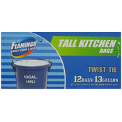 Tall Kitch Bags 12Ct 13Gl Wholesale Bulk