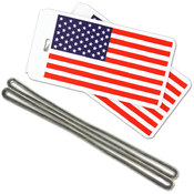 USA Luggage Tags Wholesale Bulk