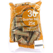Quarter Rollers Pack of 36