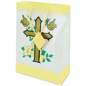Medium Giftbag- Yellow Communion