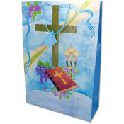Medium Giftbag- Blue Communion