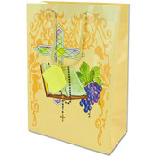 Medium Giftbag- Communion Style- Yellow