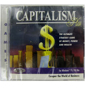 Broderbund Capitalism Plus Pc Strategy Game