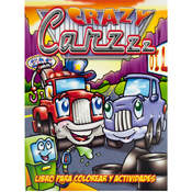 Crazy Cars Coloring and Activity Book