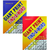 Giant Print Find A Word Puzzles