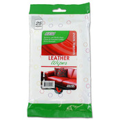 25 Pk Leather Wipes