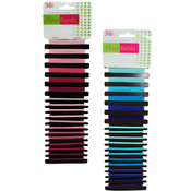 Colored Elastic Hair Bands- Assorted Colors