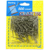 sterling Straight Pins Wholesale Bulk