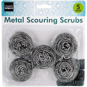 5 Pack Scouring Pads Wholesale Bulk