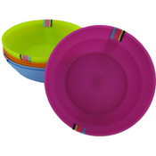 2Pc Bowl Set Asst Colors