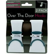 2 Pack Over The Door Hooks