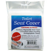10-Pack Travel Toilet Seat Covers Wholesale Bulk