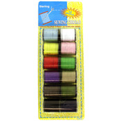 sterling 12-Pack Sewing Thread Spools Wholesale Bulk