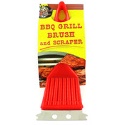 BBQ Brush with Scraper Wholesale Bulk