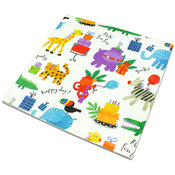 Animal Happy Birthday Gift Wrap Wholesale Bulk