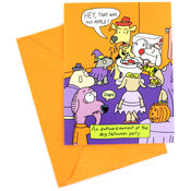 Hallmark Bob 4 Apples 10 Pack Invites