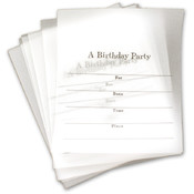 Hallmark Birthday Party 8 Cards/Envelopes Overly