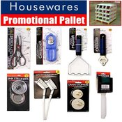 Houseware Half Pallet 1536-Piece Wholesale Bulk