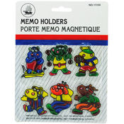 Magnetic Hippo Memo Holders