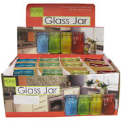 Color Jar With Lid 12 Pc Displ