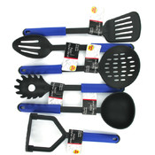 6 Assorted Nylon Kitchen Tools