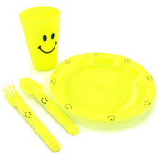 5Pc Happy Face Meal Set