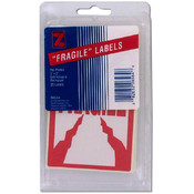 20 Pack Fragile Labels
