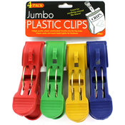 Bulk Buys 4-Pack Jumbo Bag Clips Wholesale Bulk