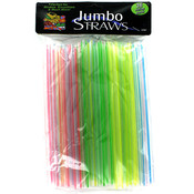 Bulk Buys 36-Count Jumbo Straws Wholesale Bulk