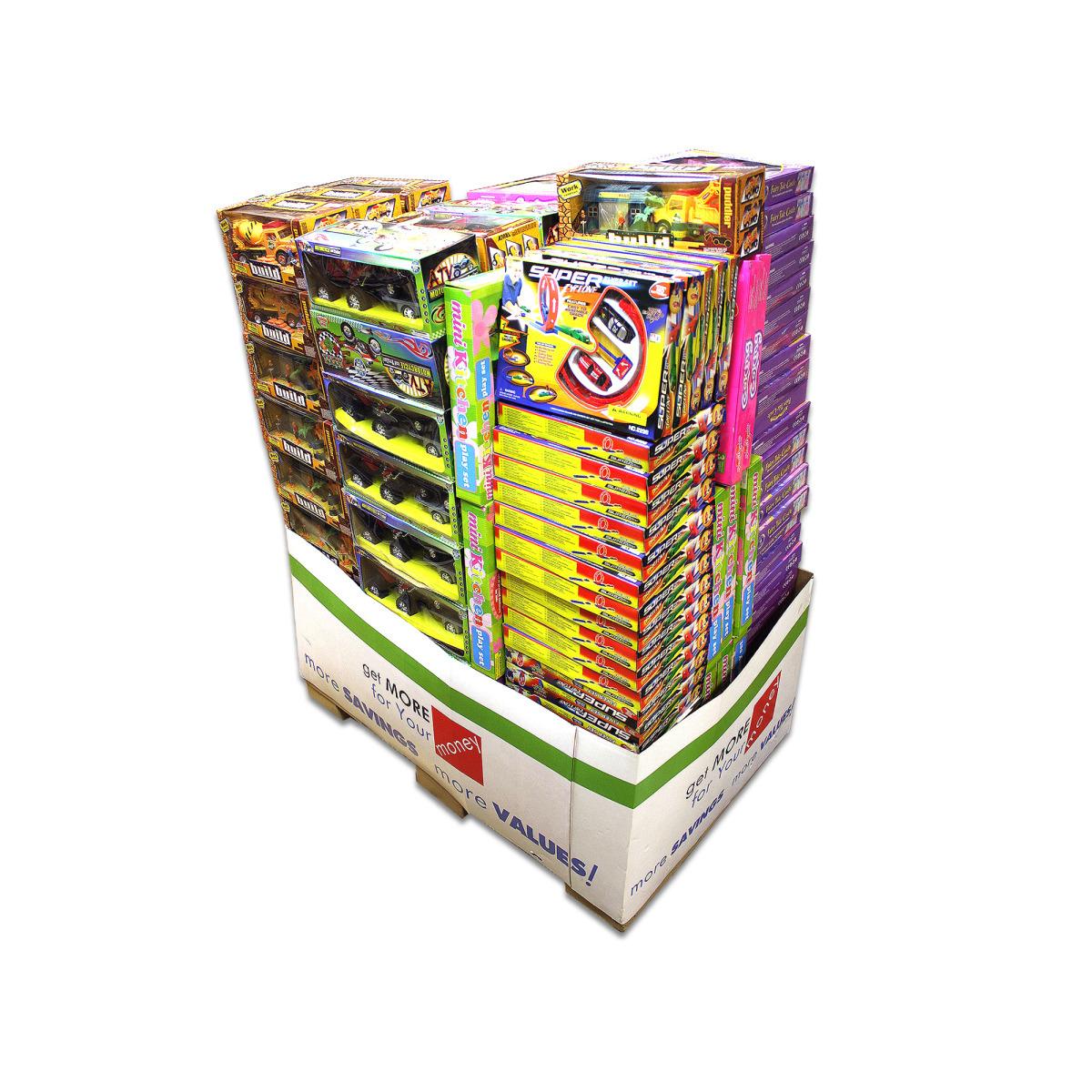 Wholesale Mixed Toy Premium Pallet 144-Piece (SKU 739056