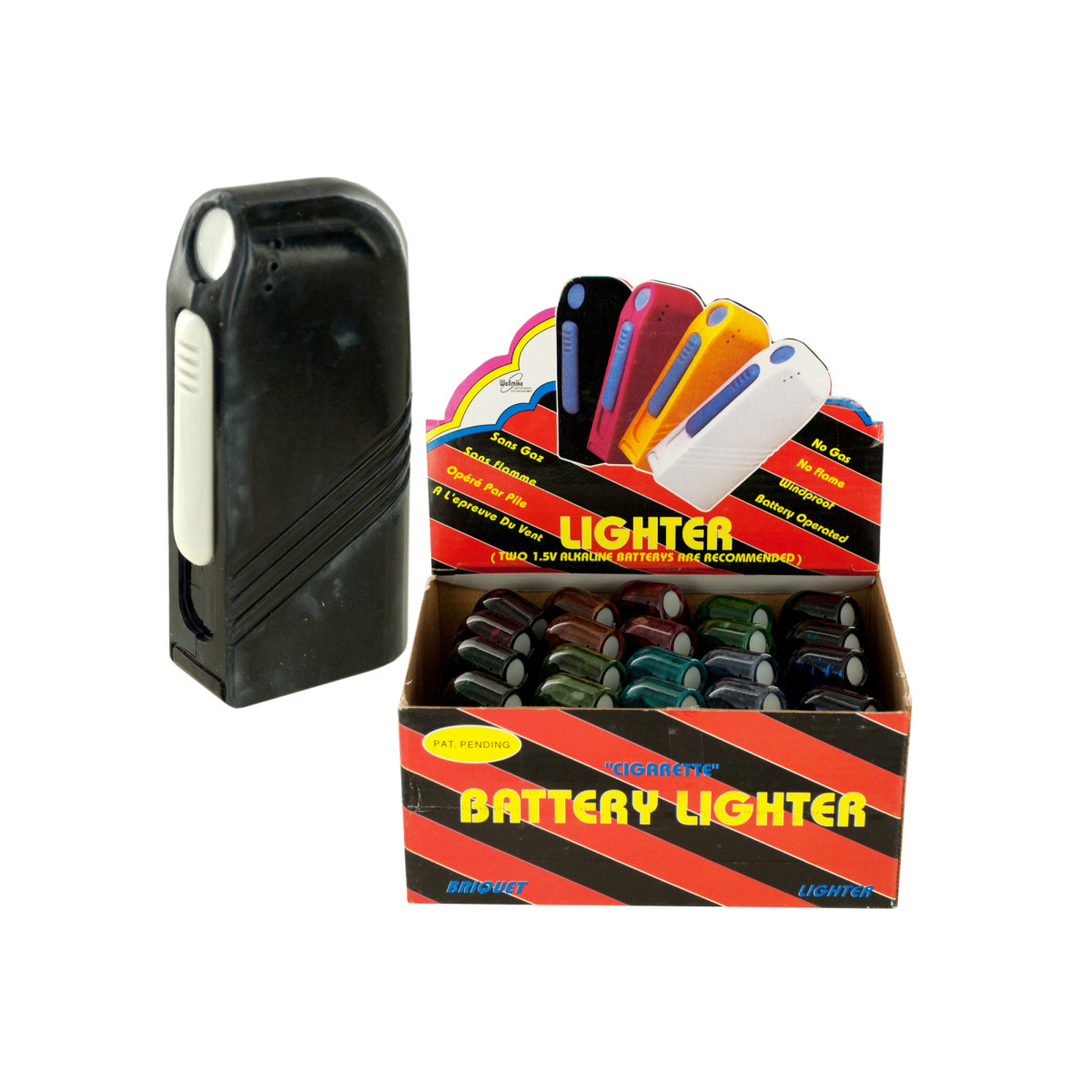CIGARETTE Battery Lighter Countertop Display [1942289]
