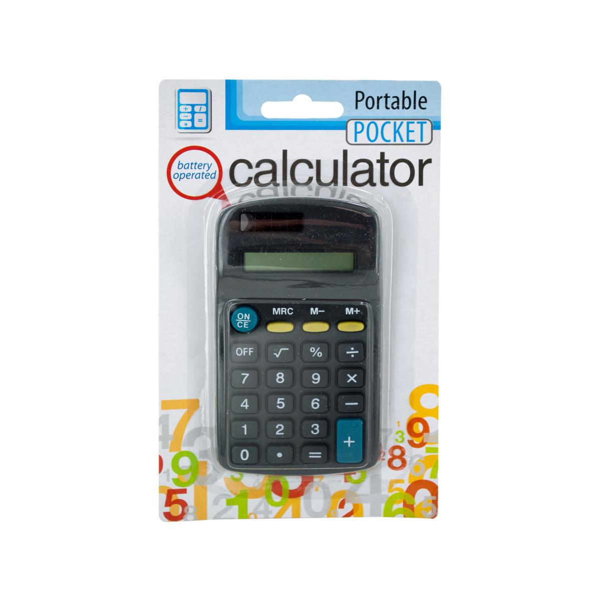 Portable Pocket CALCULATOR Style #695L [1765898]