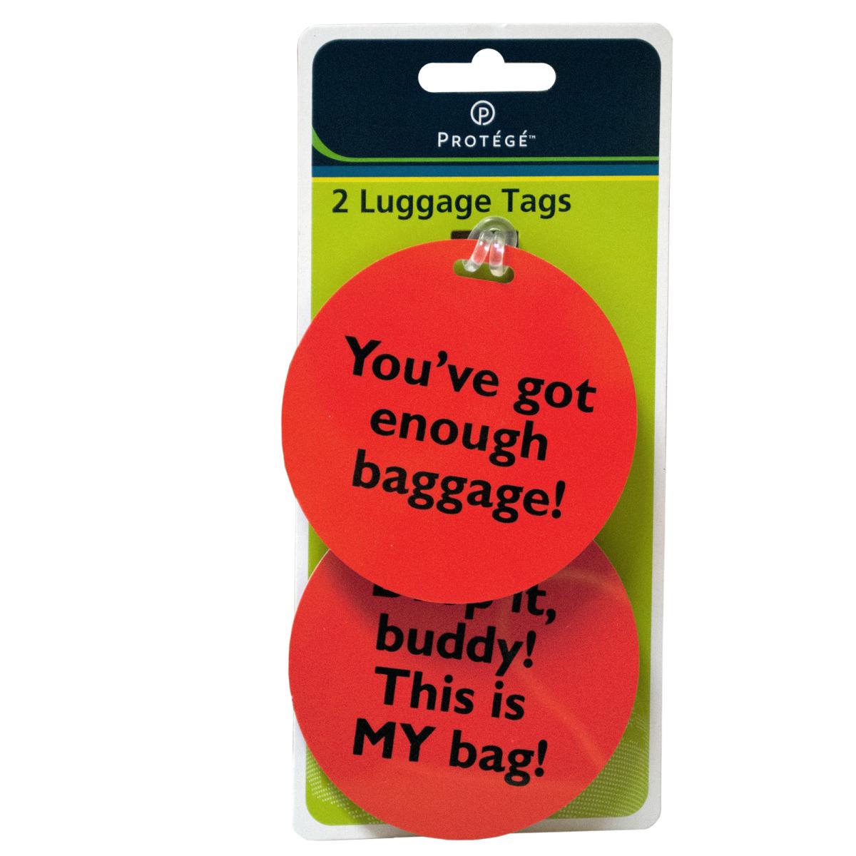 Assorted Fun Phrase LUGGAGE Tags [2123319]