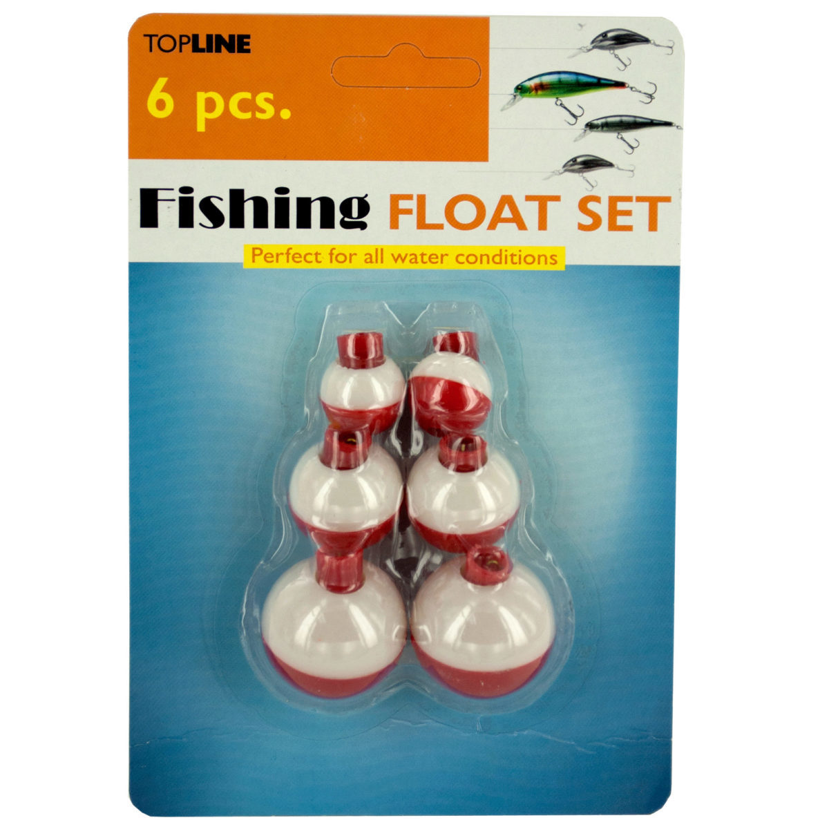 Wholesale fishing bobber floats set sku 2134608 dollardays for Fishing bobbers bulk