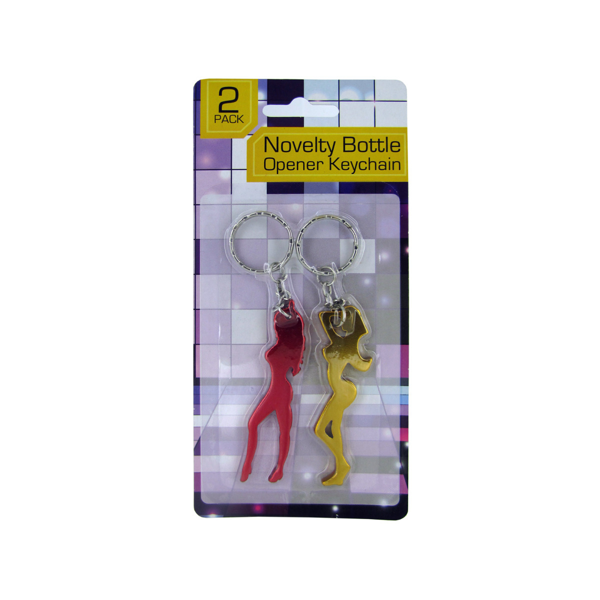 wholesale lady shaped bottle opener keychain set sku 1865824 dollardays. Black Bedroom Furniture Sets. Home Design Ideas