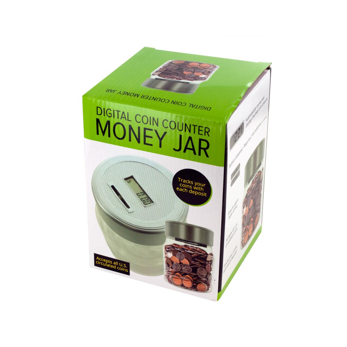 Digital Coin Counter Money Jar [1942859]