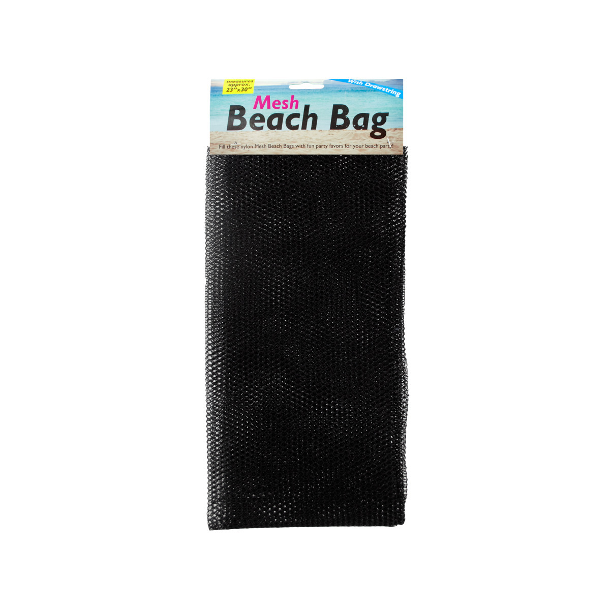 Mesh BEACH BAG with Drawstring [1866197]