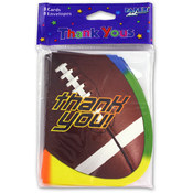 Football Thank You Cards