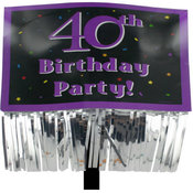 40Th Birthday Party Yard Sign