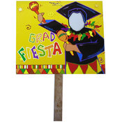 Grad Fiesta Yard Sign