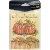 8-Pack Autumn Party Invitations Wholesale Bulk