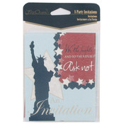 Patriotic Party Invitations Wholesale Bulk