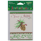 O'Tannenbaum Party Invitations, Pack of 8