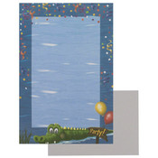 8 Sheets Party Stationary with Alligator Wholesale Bulk