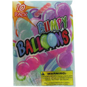 10pc Giant Bumpy Balloons